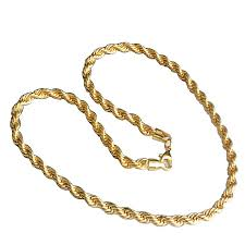 plated chain necklace images Buy sunshine fashion unisex gold plated chain necklace 18 28 inch jpg