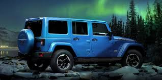 blue jeeps jeep wrangler polar limited edition revealed ahead of frankfurt