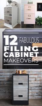 how to restore metal cabinets 12 fabulous filing cabinet makeovers the budget decorator