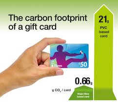 gift card companies paperboard gift cards lessen the environmental impact of christmas