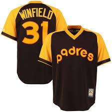 Winfield Home Decor Ltd Men U0027s San Diego Padres Dave Winfield Majestic Brown Alternate Cool