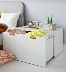 Stolmen Bed Hack More Than Just A Box The Stuva Bench Makes A Great Bedside Table