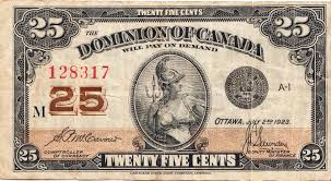 Twenty Five Dollars Withdrawn Canadian Banknotes Wikipedia