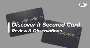 Secured Credit Card For Business Discover It Secured Credit Card Reviews Best Card For Bad Credit