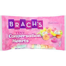 s candy hearts brach s tiny conversation hearts s day candy 7 5 oz bag