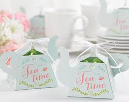 bridal tea party favors tea party favors etsy