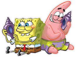 spongebob squarepants and patrick decal and wall decor nostalgia