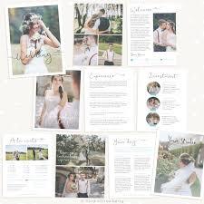 wedding magazine template wedding photography magazine template strawberry kit