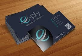 visitenkarten designer it dienstleister sucht modernes visitenkarten un business card