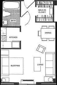 300 Sq Ft House Floor Plan Senior Studio Apartment Design Ideas Apartment Floor Plan 5