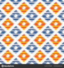 ikat fabric style rug texture pattern u2014 stock vector slanapotam