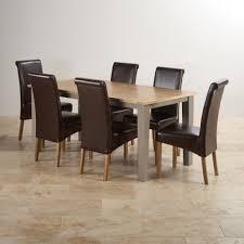 Dining Tables Finance Available Oak Furniture Land - Light oak kitchen table