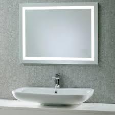 bathroom mirror shops hib aztec led bathroom mirror with glass shelf and shaver socket