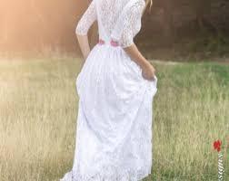Wedding Dress Lace Sleeves Lace Wedding Dress Etsy