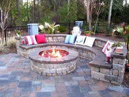 Firepit Stones Pit Stones Home Depot Kit Stacked Cheap Outdoor