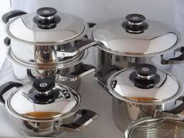 batterie de cuisine amc amc ensemble des casseroles de 12 pièces secuquick pots de cuisine