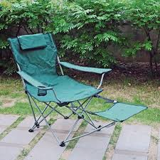 folding quad chair with footrest at menards