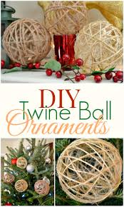 diy twine ornaments unlimited miss frugal