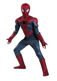 boys prestige spider man 2 costume halloween costumes