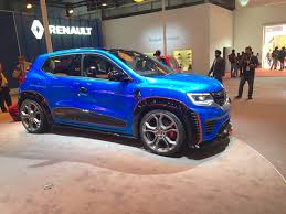 renault climber colours renault kwid racer side at auto expo 2016 indian autos blog