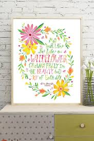 216 best printspiring art for inspired spaces images on pinterest wildflower wreath native american proverb instant download printable wall art by printpsiring