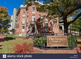 the octagon house washington dc usa stock photo royalty free