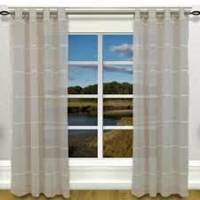 ricardo trading horizon stripe grommet panel curtainshop com