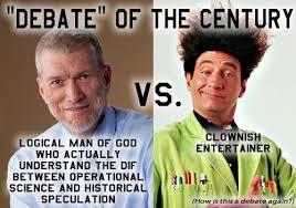 Ken Ham Meme - who should christians root for in the bill nye ken ham debate