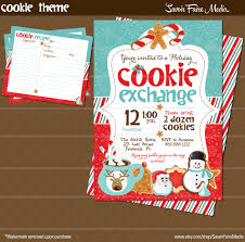 christmas cookie party invitations christmas recipe card templates christmas lights decoration