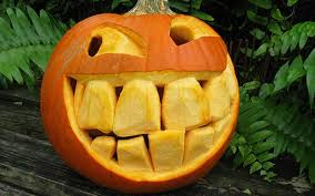 decorations fascinating and funny halloween pumpkin carving design