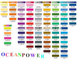 258 items u0026 durable application paint color chart fandeck card