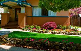 Garden Ideas For Front Of House Landscaping Ideas For Front Of House Shade Comqt