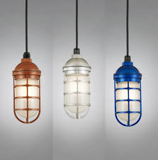 Hanging Light Fixture by Hi Lite Manufacturing Rlm Saucer Vapor Jar Outdoor Pendant Light