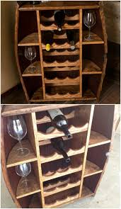 Barn Board Wine Rack 50 Decorative Rustic Storage Projects For A Beautifully Organized
