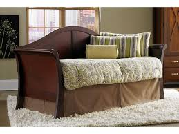 Wood Day Bed Dark Wood Day Bed 10569