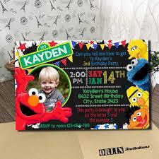 template free printable sesame street birthday invitations nz