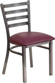 Metal Folding Bistro Chairs Ladder Back Metal Frame Chair Metal Frame Wholesale Chairs