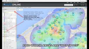 Crime Spot Map Lorain Police Department Public Crime Mapping Youtube