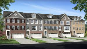 brick yard station two car garage townhomes new townhomes in