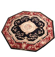 Octagon Rug 6 Royal Palace Hand Tufted Octagonal