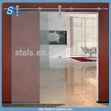 Internal Glass Sliding Door by Single Panel Sliding Glass Door Frosted Tempered Glass Sliding