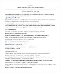 Systems Analyst Resume Example by 30 It Resume Samples Free U0026 Premium Templates