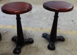 bar stools exquisite fabric steampunk home bar beachy counter