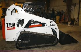 2004 bobcat t190 skid steer track loader item 4774 sold