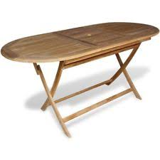 Folding Wood Dining Table Teak Folding Table Ebay