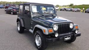 cheap used jeep wranglers cheap used jeep wrangler for sale maryland n300387a