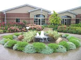 landscaping companies in michigan without grass on the front yard