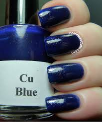 girly bits cu blue swatches and review pointless cafe nail