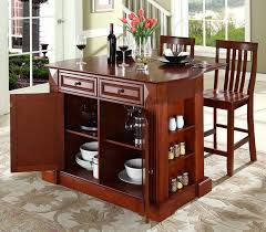 Kitchen Island Black Granite Top Buy Black Granite Top Kitchen Island In Classic Cherry Finish