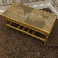 tile top coffee table anbercraft furniture furniture for modern living